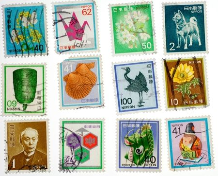 collectible: Collectible Japanese Used Stamps