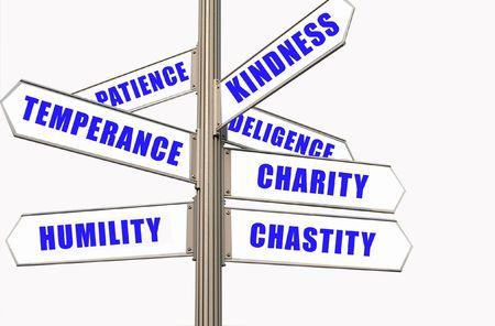 temperance: Seven Virtues