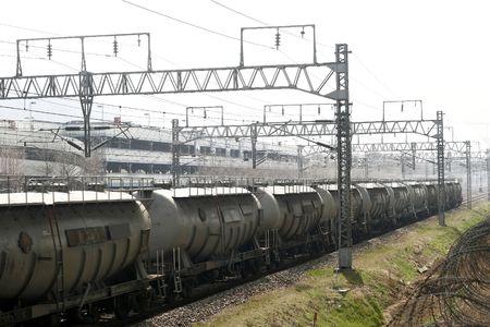 Series of Cargo Train  photo