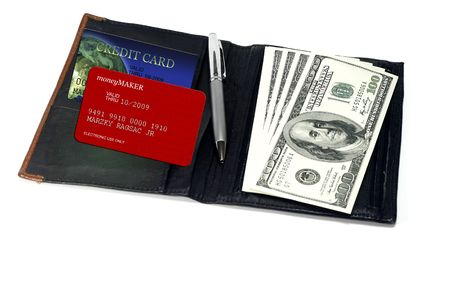 Credit Card and Cash  concept  photo