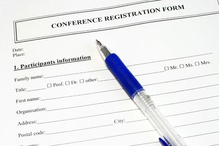 assign: Conference Registration Form