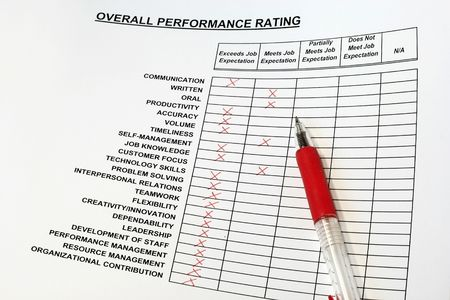 Overall Performance Rating Stock Photo - 2982037