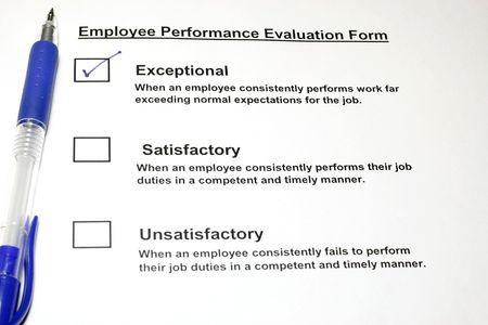 Employee Performance Evaluation form  photo