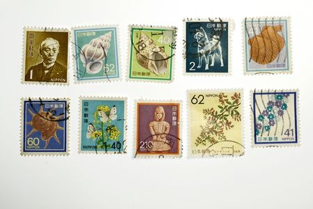 collectible: Collectible stamps from japan