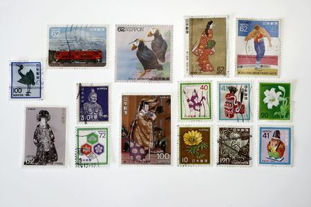 collectibles: Japanese Vintage Stamps collectibles