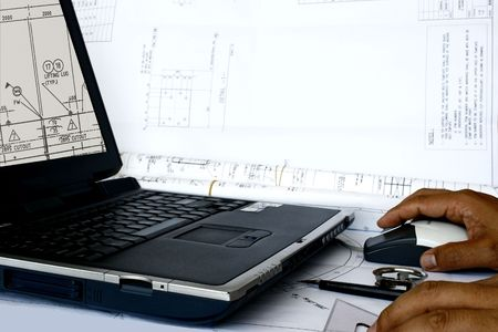 기계 공학 개념 컴퓨터 지원 설계 스톡 콘텐츠 - 3457949