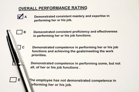 satisfactory: Performance Rating