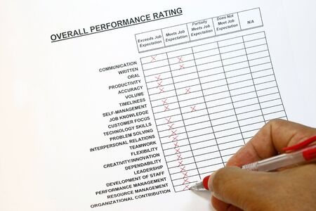 resource: Overall performance rating concept
