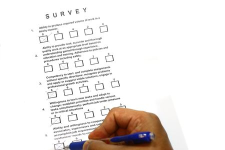 tickbox: Survey concept for mangement personnel and many uses