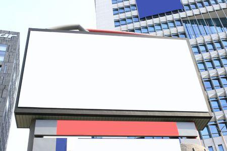 blank billboard: Blank Billboard bereit, f�r Ihre Kunst
