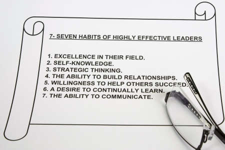 habits: seven habits of highly effective leaders
