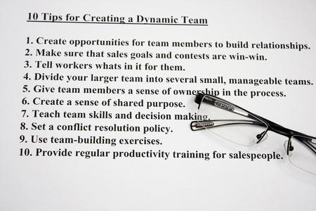 decission: Dieci suggerimenti per la creazione di un team dinamico