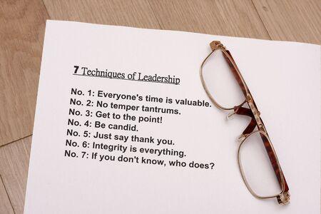 tantrums: seven rules of ledership