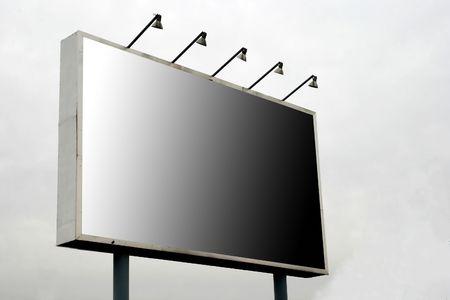 proclamation: blank billboard