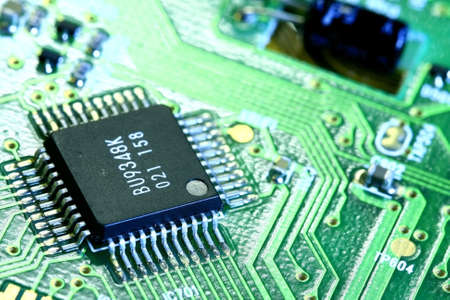pb: PCB board and electronic components