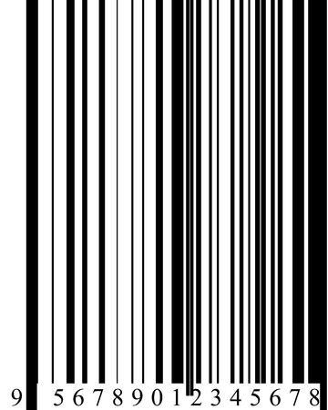 Barcode in digital format high resolution 2D photo