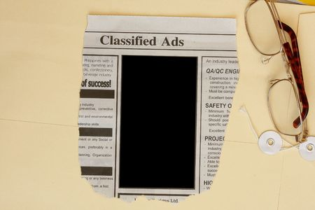 Classified ads  photo