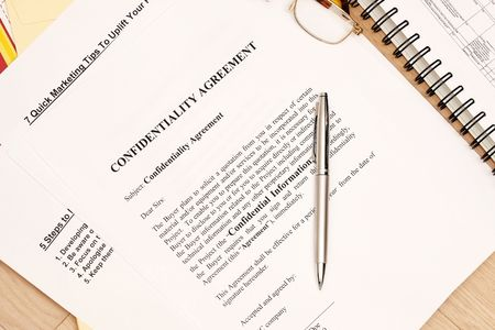 confidentiality: Confidentiality Agreement