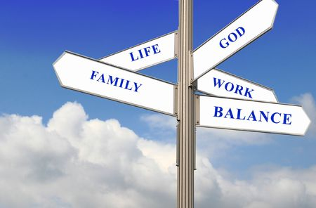 work life balance: Work Life Balance  Stock Photo