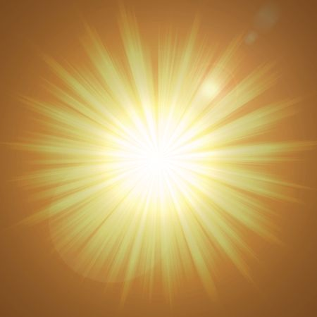 sun background made from orange and yellow rays representing hot glowing abstract sun photo