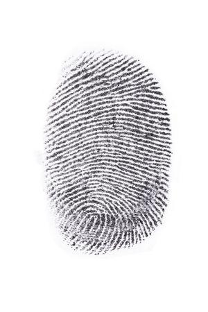 Fingerprint print output Stock Photo - 5452651