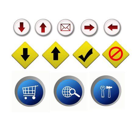 Internet web icon illustration digital high resolution Stock Illustration - 5645224