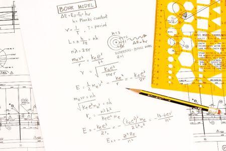 computations: Bohrs model in trigonometry concept in mathematics.