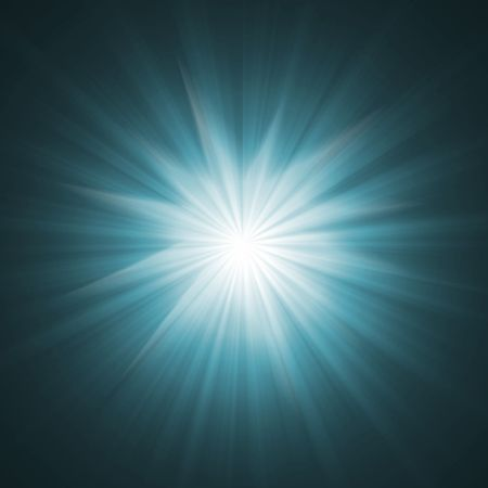 cool shining  effect with rays of light Stock Photo - 6870612