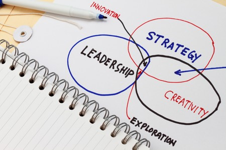 sketch of management diagram startegy leadership and creativity Stock Photo - 7885870