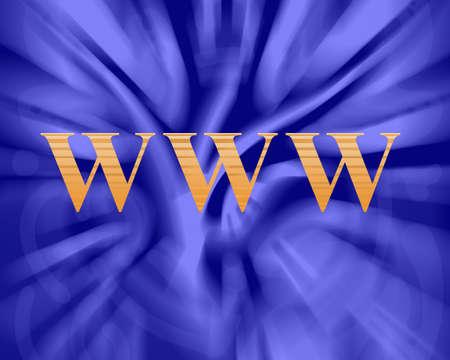 world wide web  internet background- illustration high resolution Stock Illustration - 8270072