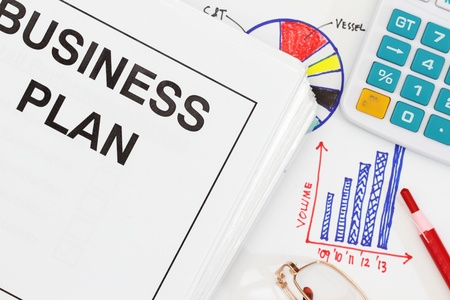Business plan abstract - many uses in finance and management Stock Photo - 8339828