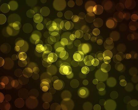 Magic sparkle, light dots on dark background with copy space Stock Photo - 8775612