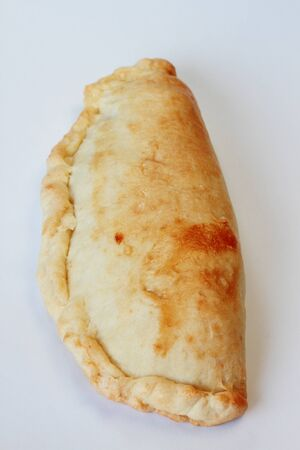 empanada- cake filling beef typical of Philippines photo