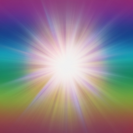 Burst Zoom radiale de l'énergie, illustration de fond abstrait