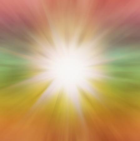 Radial zoom burst of energy, abstract background illustration Stock Illustration - 14803703