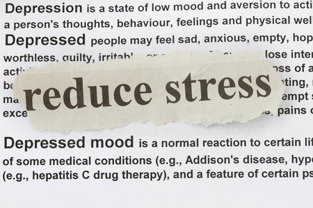 Depression symbol concept  Low mood concept and reduce stress  photo