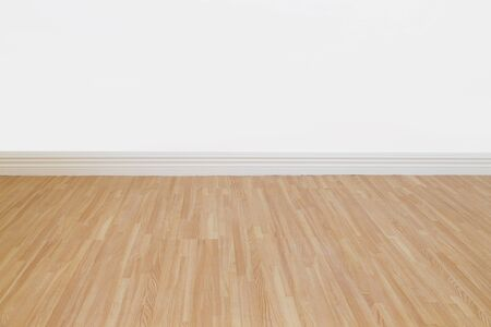 smooth wood: Interior of a home with refinished hardwood floors   Stock Photo