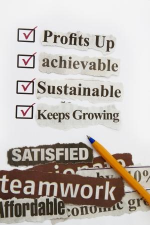 questionaire: consumidor encuesta con cuestionario casilla de verificaci�n para mejorar las metas