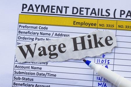 salarios: Nómina libro y la pluma, dispuestos a pagar emplyoees e impuestos