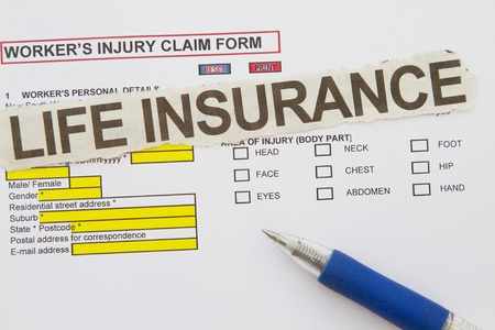 accidental: Accidental Injury Claim Form - manyuses in the insurance industry  Stock Photo