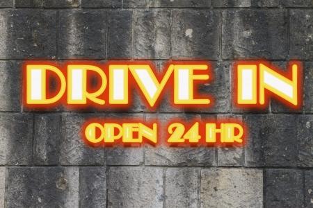 vacant sign: Motel Cottage Inn Motel neon light Sign