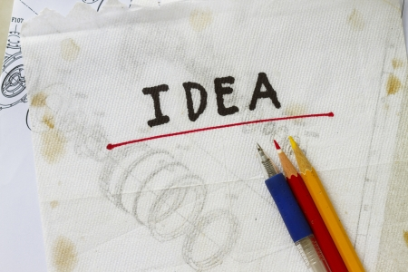 jot: list down your ideas in the napkin abstract
