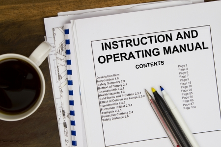 or instruction: Operating instruction manual