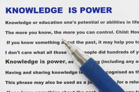 narrative: knowledge is power with narrative document and definition of knowledge power.