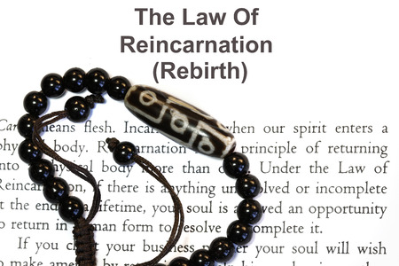 The law of Reincarnation concept-  many religion uses.
