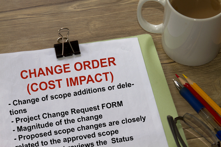 Change Order Cost Impact many uses in the oil and gas industry