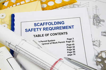 SAFETY REQUIREMENTS FOR SCAFFOLDS - many uses in the oil and gas industry.