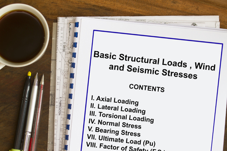 Subject matter and table of contents- many uses in the oil and gas industry