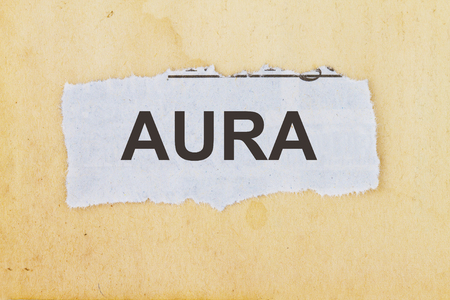 Human aura concept - about human aura and emanations Imagens