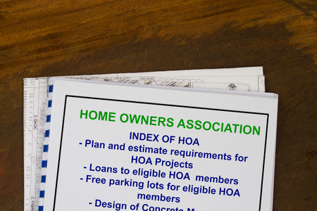 Home owners association - concept of regulation and dues.